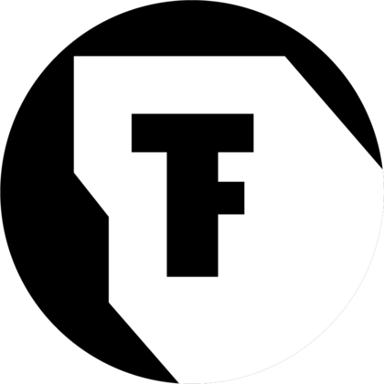 Logo of the Festival Theaterformen in black and white.