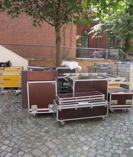 05 Aufbau Festivalzentrum