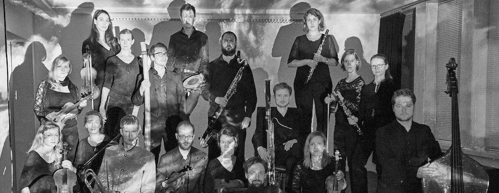 Orchester Im Treppenhaus Foto Pano