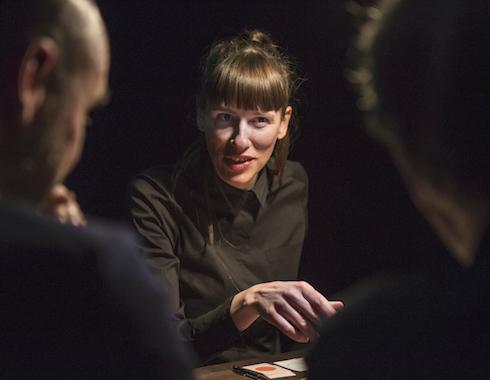 Aurélie Lannoy In '£¥€' C Thomas Dhanens